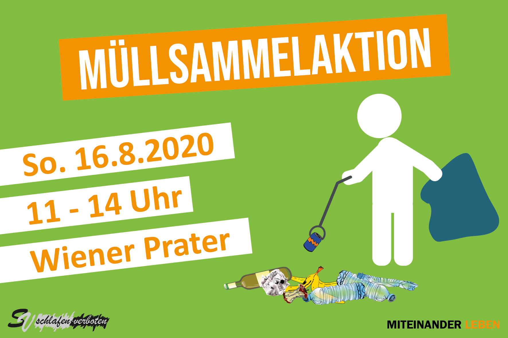 Müllsammelaktion Website 2020