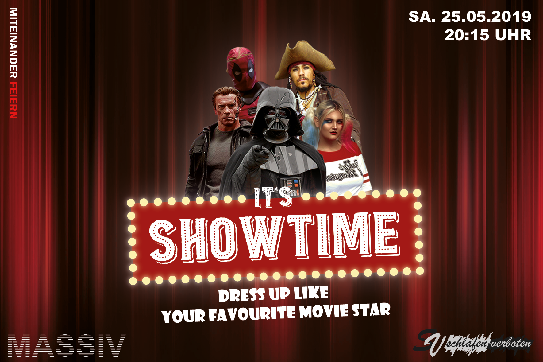 it's showtime Website